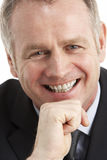 Portrait Of Middle Aged Businessman Royalty Free Stock Photos