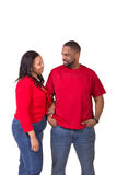 Portrait of a middle aged couple royalty free stock photos