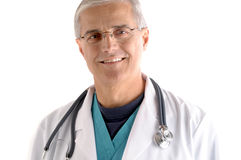 Portrait of Middle Aged Doctor Stock Photography