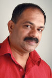 Portrait of a middle aged India Stock Photography