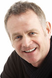 Portrait Of Middle Aged Man. Smiling Stock Photography