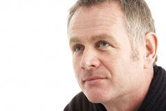 Portrait Of Middle Aged Man Stock Images