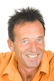 Portrait of a middle aged smiling man Royalty Free Stock Photos