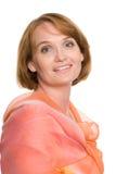 Portrait middle aged woman Stock Photo