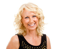 Portrait of middle-aged woman Royalty Free Stock Photography