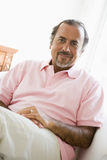 Portrait of a Middle Eastern man. Looking at camera royalty free stock image