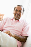 Portrait of a Middle Eastern man. Smiling at camera royalty free stock photography
