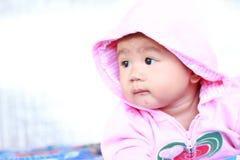 Portrait mignon de bébé de bébé photographie stock
