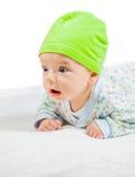 Portrait mignon de bébé garçon Photographie stock libre de droits