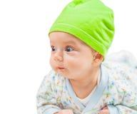 Portrait mignon de bébé garçon Images libres de droits