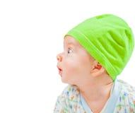 Portrait mignon de bébé garçon Photos libres de droits