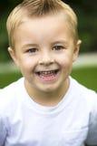 Portrait mignon et souriant de Little Boy Image libre de droits