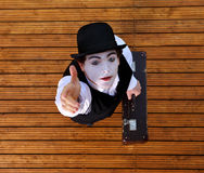 Portrait of the mime Royalty Free Stock Photos