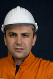 Portrait of a miner Stock Photo