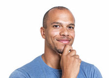 Portrait of a mixed race man looking confidently to camera Stock Photo