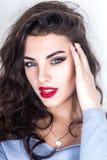 Portrait of gorgeous woman Stock Images