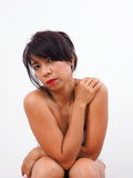 Portrait of modern Asian woman Stock Photography