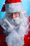 Portrait of a modern of Santa Claus. Stock Images