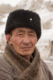 Portrait of Mongolia craftsman Stock Image