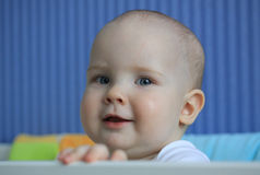 Portrait of a 11-months baby Stock Image