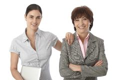 Portrait of mother and adult daughter Royalty Free Stock Photography