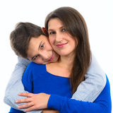Portrait of a mother with her son Royalty Free Stock Photography