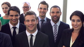Portrait Of Multi-Cultural Office Staff Wearing Suits Royalty Free Stock Photography