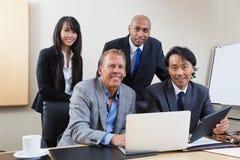 Portrait of multi ethnic business people Stock Image