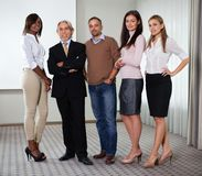 Portrait of a multi ethnic business team Royalty Free Stock Photo