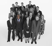 Portrait of multi-ethnic business team standing together Royalty Free Stock Image