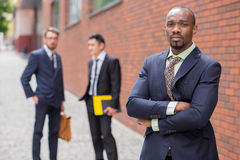 Portrait of multi ethnic  business team Stock Images