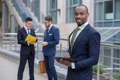 Portrait of multi ethnic  business team Royalty Free Stock Images