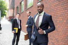 Portrait of multi ethnic business team Stock Photos