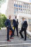 Portrait of multi ethnic business team Royalty Free Stock Photography