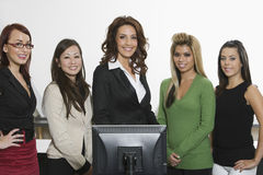 Portrait Of Multiethnic Businesswomen Stock Photos