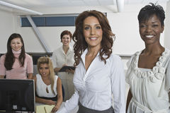 Portrait Of Multiethnic Businesswomen Stock Photo