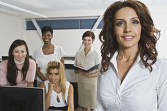 Portrait Of Multiethnic Businesswomen Royalty Free Stock Photo