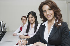 Portrait Of Multiethnic Businesswomen Royalty Free Stock Photos