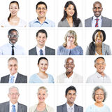 Portrait of Multiethnic Diverse Business People Stock Photography