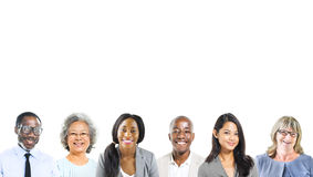 Portrait of Multiethnic Diverse Business People stock photos