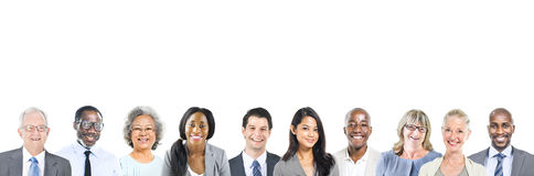 Portrait of Multiethnic Diverse Business People Royalty Free Stock Photo