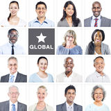 Portrait of Multiethnic Diverse Business People Royalty Free Stock Photography