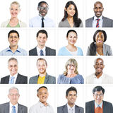 Portrait of Multiethnic Diverse Business People Royalty Free Stock Photos