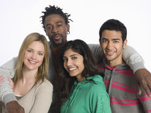 Portrait Of Multiethnic Young People Royalty Free Stock Photo