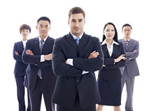 Portrait of multinational business team Stock Image