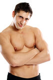 Portrait of a muscleman Stock Images