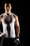 Portrait of muscular man Stock Images