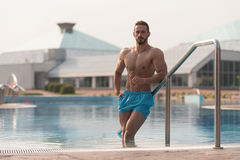 Portrait Of A Muscular Sexy Man In Underwear Royalty Free Stock Images