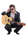 Portrait of the musician Stock Photo