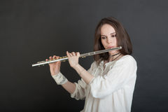 Portrait of a musician Stock Photography